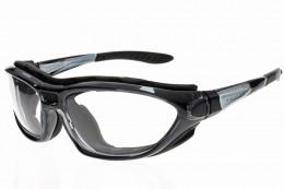 SM7152 Safety Sunglasses with Gloss Black Frame and Light Adjusting Lens